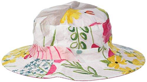 Catimini Chapeau réversible, Blanc (Blanc) - Small (Taille fabricant: 46 cm)