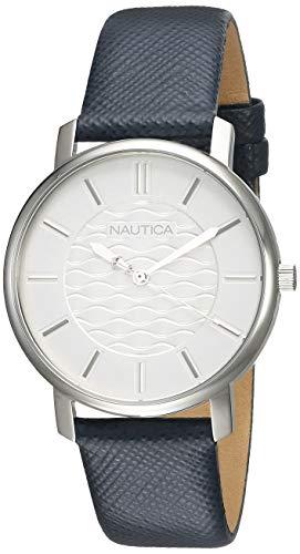 Reloj Nautica Coral Gables para Mujer 36mm, pulsera de Cuero Sintético