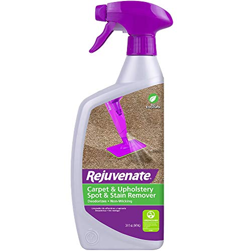 Rejuvenate Carpet Cleaner Spot Remover Stain Remover & Professional Strength Pet Stain and Pet Odor Eliminator