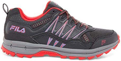 Fila Women's, Evergrand TR Trail Running Sneakers (10) Grey
