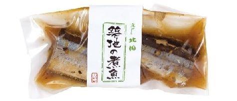 築地 魚がし北田 自家製 さんま香梅煮(1切真空包装)