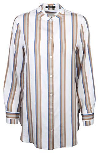 Marc Aurel Damen Bluse Größe 40 EU Weiß (weiß)