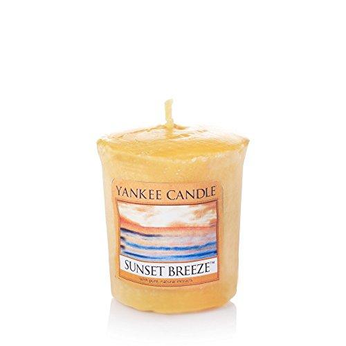 YANKEE CANDLE Sunset Breeze Sampler Vela perfumada Vela, Amarillo