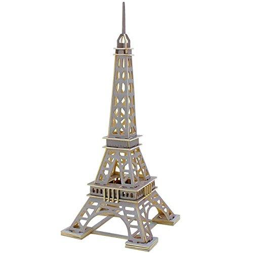 Eifel ITN JPD463 3D-Puzzle, aus Holz
