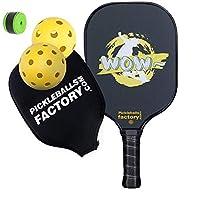 Pickleball Paddles, Pickleball Set, Pickleball Net Bag Pickleball Balls, Pickle Ball Game Set, Pickleball Paddle, WOW SKI Pickleballs, Pickle Ball Racquets, pickle ball balls