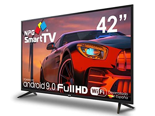 "TV NPG LED 42"" Full HD Smart TV Android 9.0 Quad Core WiFi PVR"