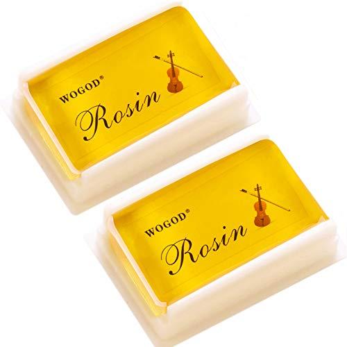 Rosin Violin Rosin Light Low Dust Rosin 2 Pack for
