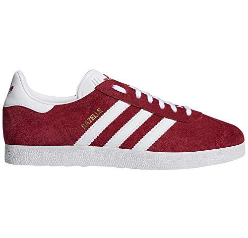 adidas Gazelle Schwarz, Rot, Blau, Rosen für Damen. Turnschuhe, Tennis. (40 EU, Noyau Bourgogne Blanc Pr)