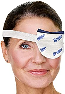 34170 Bruder Moist Heat Eye Compress | Single Eye. Effective Relief for Painful styes and Chalazion