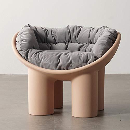 WUJNFAJFA Sofá Individual sillón balcón para el hogar sillón Creativo Funda para pies de Elefante cojín Suave Moldeado para pies Hermoso y práctico, cojín de Polvo Sucio