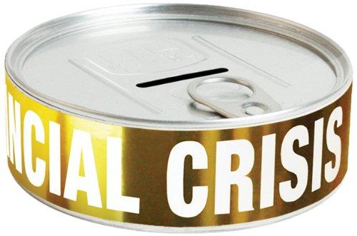 Doiy DYFINANCI - Salvadanaio Financial Crisis, 3,5 x 10 x 10 cm