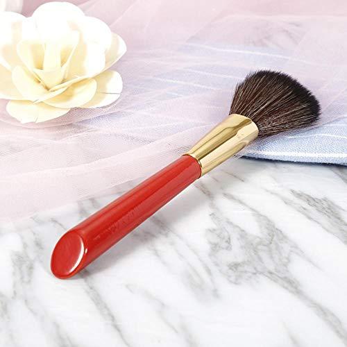 ASDFG Pinceaux de Maquillage Set Powder Foundation Blush Ombre à paupières Cosmétique Maquillage Brosses Cheveux Doux 10/4 / 1pcs, 1pcs