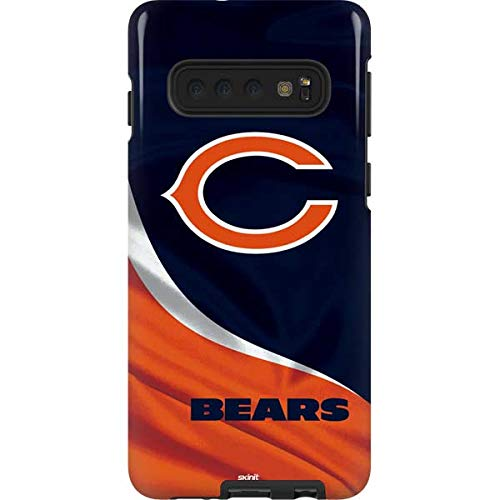 Skinit Pro Phone Case Compatible with Galaxy S10 - Officially Licensed NFL Chicago Bears Design
