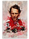 FGVB Niki Lauda Poster Dekorative Malerei Leinwand