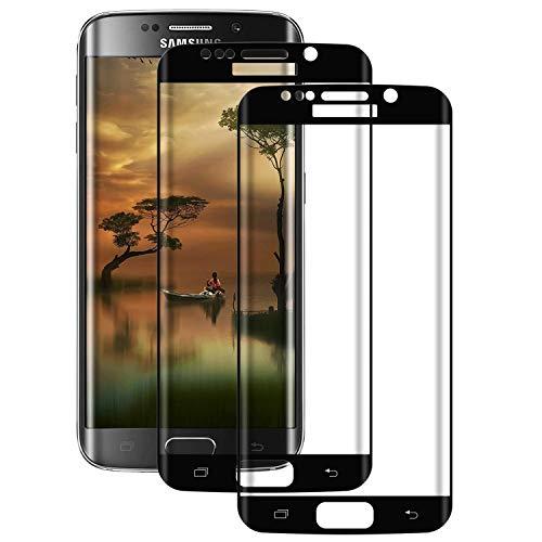 DOSMUNG [2 Pack Vetro Temperato per Samsung Galaxy S7 Edge, Pellicola Protettiva per Samsung S7 Edge [9H Durezza] [Tocco 3D] [HD Alta Trasparenza] [Resistenza ai Graffi] Galaxy S7 Edge Tempered Film
