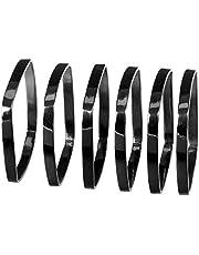 Blomus FINO servetring, zwart nikkel, H 0,5 cm, B 4,5 cm