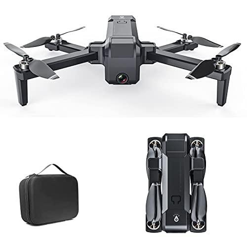 J-Clock Drone con FHD FPV 4K 1080P Professione Videocamera Live Video Percorso di Volo Personalizzato Durata 30 Minuti 180° Grandangolo 90° Rotante