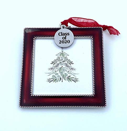 Class of 2020 Gift, Photo Ornament, Christmas Tree Ornament, Gift for Graduation, home decor decoration, College University High School Graduate Present, Holiday Girl her him, Daughter Son or 2021