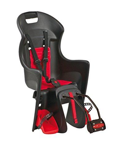 Polisport, Schwarz/Rot, Kinder Kindersitze/fahrradsitz Boodie, S