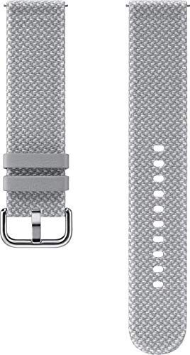 Samsung Kvadrat Band für Samsung Galaxy Watch Active 1, 2 - grau