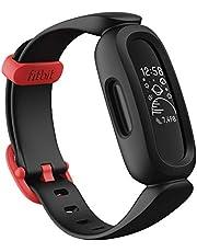 Tracker aktywności Fitbit Ace 3 dla dzieci zanimowanymi tarczami zegara, żywotnością baterii do 8 dni iwodoodpornością do 50 m