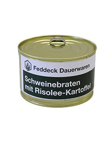 Fertiggericht Dose Schweinebraten mit Risolee-Kartoffeln 400 g
