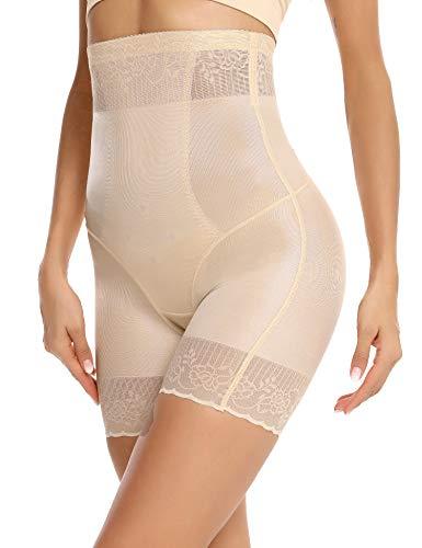 Aiboria Intimo Modellante da Donna Contenitiva a Vita Alta, Pantaloncini Snellenti Invisible Body Shapewear Dimagrante