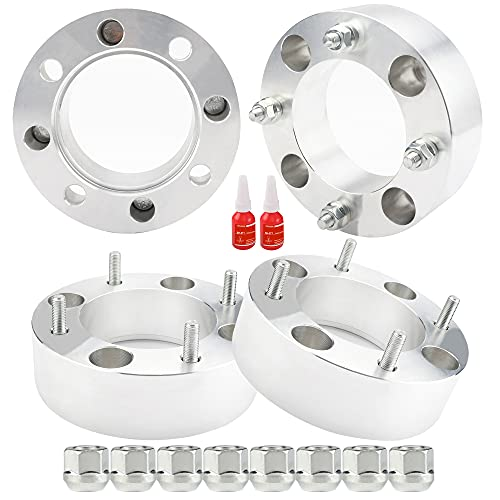 4PCS 2 Inch 4x137mm ATV Wheel Spacers for Can-Am Kawasaki Mule 500/520/550/600/610 Bombardier Outlander 330/400/650/800 Commander 800/1000, wheel sapcers 4x137 with M10X1.25 Studs with 110mm hub bore