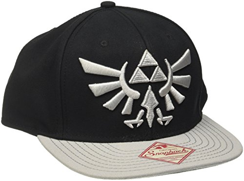 Nintendo Cap Zelda Grey Logo