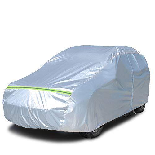 KAKIT Car Cover Waterproof All Weather, Full Cotton & Door Zipper, Sun...