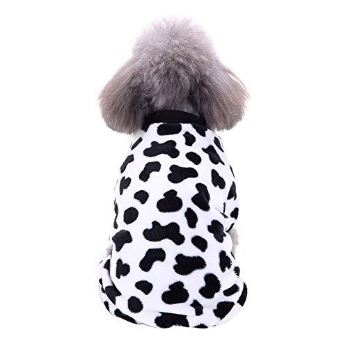 Handfly Ropa para Perros Perros Gatos Pijamas de Perro Suave, Pijamas para Perros Abrigos Ropa para Perros pequeños, Gatos, Mascotas.
