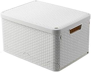 収納ボックス 収納ケース 折り畳み式 40L 蓋付き 整理ボックス 防塵 防カビ 防湿 スタッキングボックス積み重ね可能 小物収納用 引っ越し 車載用