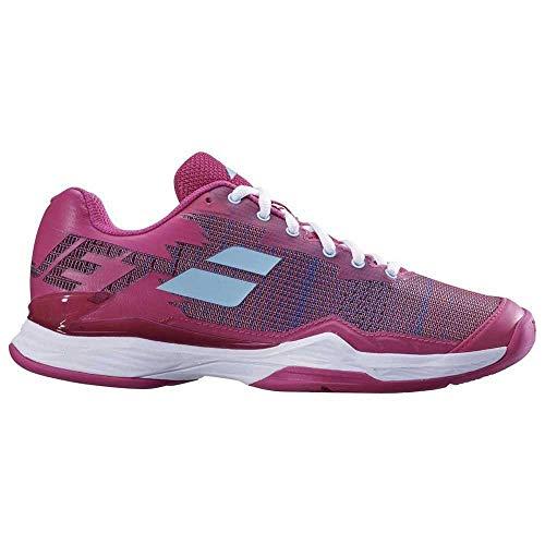 Babolat Zapatillas de Tenis para Mujer Jet Mach I Clay Rosa, Lila, púrpura/Azul Pastel, 37 EU