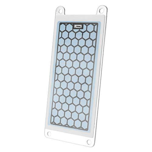 KKmoon Gerador doméstico portátil Ozonizador de cerâmica integrado e peças de purificador de água de ar 5g/h Placa de ozônio