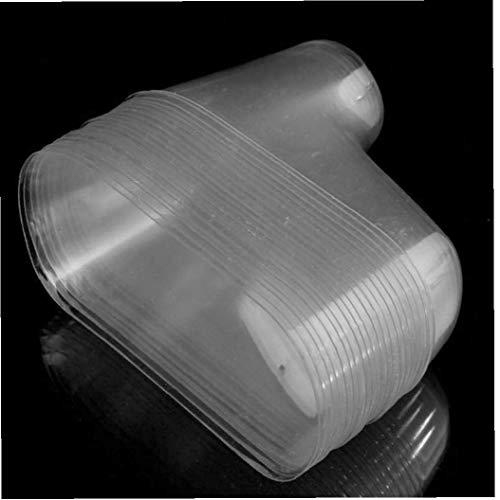 TOSSPER 20 Pc/Porción De Plástico del Pie del Calcetín Modelo Moldes Pegar La Pasta De Azúcar del Bebé Botines del Molde De Extrusión De Visualización Regalo Zapatos Embalaje