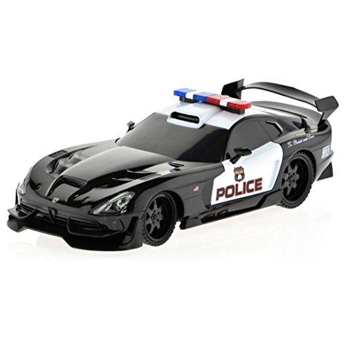 1/18 Scale Dodge Viper SRT Police Car Radio Remote Control R/C RTR