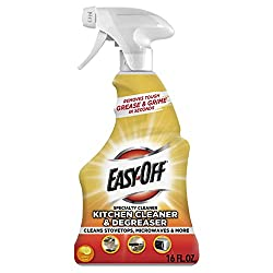 Easy-Off Specialty Kitchen Degreaser Cleaner, 16 ounce