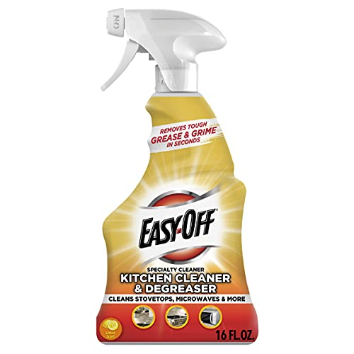 Easy-Off Specialty Kitchen Degreaser Cleaner, 16 fl oz Bottle