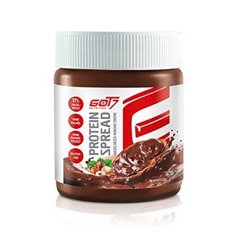 GOT7 Protein Spread Haselnuss – Kakao Creme Creme Aufstrich Protein Eiweiß Brotaufstrich Diät Fitness Bodybuilding 200g