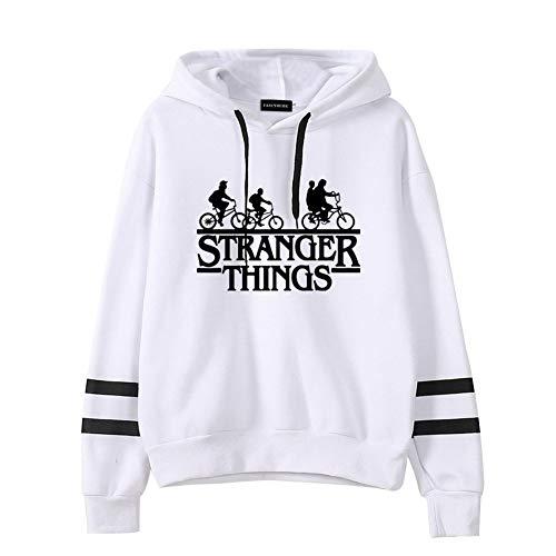 """SUSSURRO - Sudadera con capucha para mujer, diseño de Stranger Things, con texto en inglés """"Friends Don"""