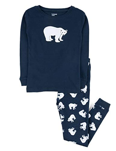 Leveret 2 Piece Pajama Polar Bear 12 Years