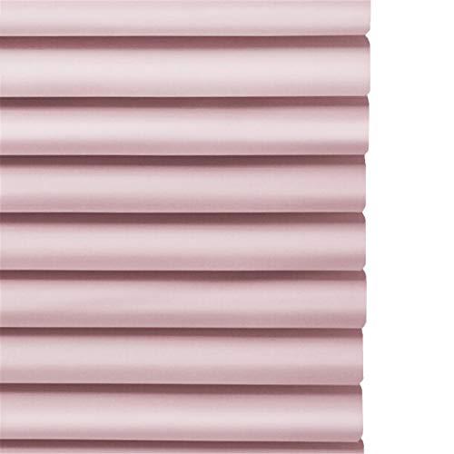 Gordijn van bamboe Persianas Venecianas de Aluminio Rosa para Habitación de Niña, Blackout Privacy Window Mini Blind, Fácil Limpieza, 60/75/90/105/120/135 cm de Ancho (Size : 105x160cm/41×63in)