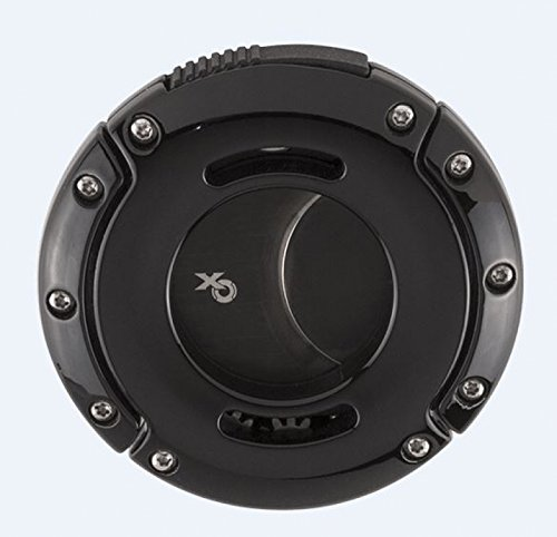 Xikar Cutter XO Zigarrencutter black - Klinge Keramik beschichtet inkl. Lifestyle-Ambiente Tastingbogen