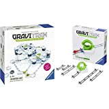 Ravensburger Gravitrax Starter Set Marble Run & STEM Toy for Kids Age 8 & Up - Endless Indoor Activity for Families & Gravitrax Loop Accessory - Marble Run & STEM Toy for Boys & Girls Age 8 & Up