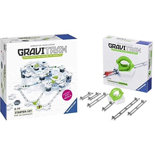 Ravensburger Gravitrax Starter Kit Gioco Logico-Creativo & Gravitrax Looping Gioco Logico-Creativo