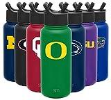 Simple Modern NCAA Oregon Ducks 32oz Water Bottle with...