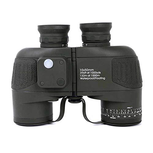 IGPG Waterdicht 10 * 50 verrekijker, ingebouwde kompasmarkering, waterdicht en anti-mist, grote objectieve lens en groot gezichtsveld.