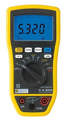 Chauvin Arnoux P01196733 5233 multimeter