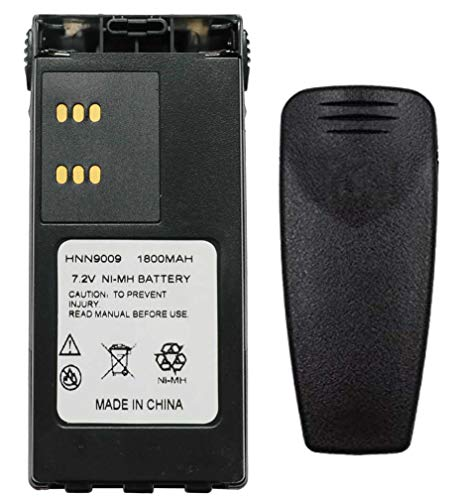 Teseko HNN9008A HNN9008 HNN9009 HNN9009A HNN9013A 7.2V 1800mAh NI-MH Two-Way Radio Battery Replacement for Motorola HT750 HT1225 HT1250 GP320 GP328 GP338 GP328 PR860