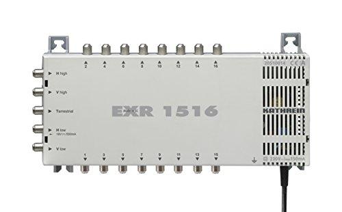 Kathrein EXR 1516 Satelliten-ZF-Verteilsystem-Multischalter (1 Satellit, 16 Teilnehmeranschlüsse, Klasse A)